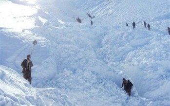 Damages caused by the recent snow in northern Afghanistan
