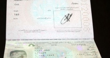 Distribution of computerized passports begins in Kabul