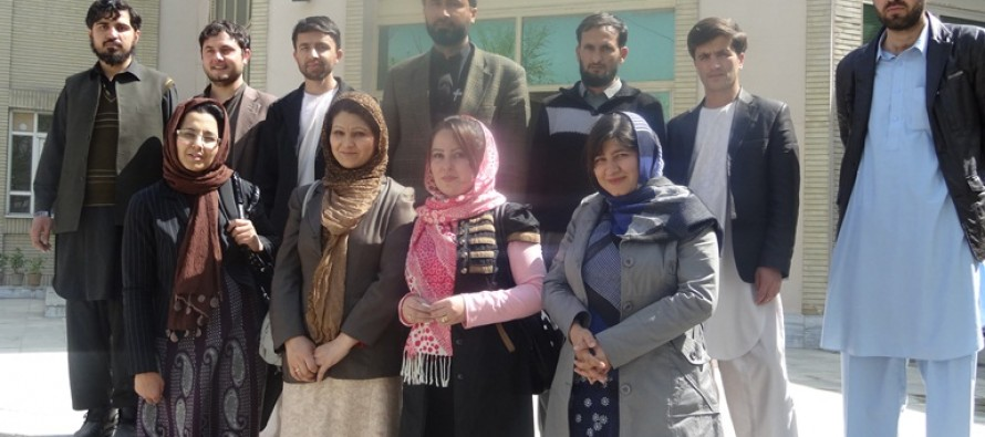 13 Afghan teachers left for Sweden to defend their thesis