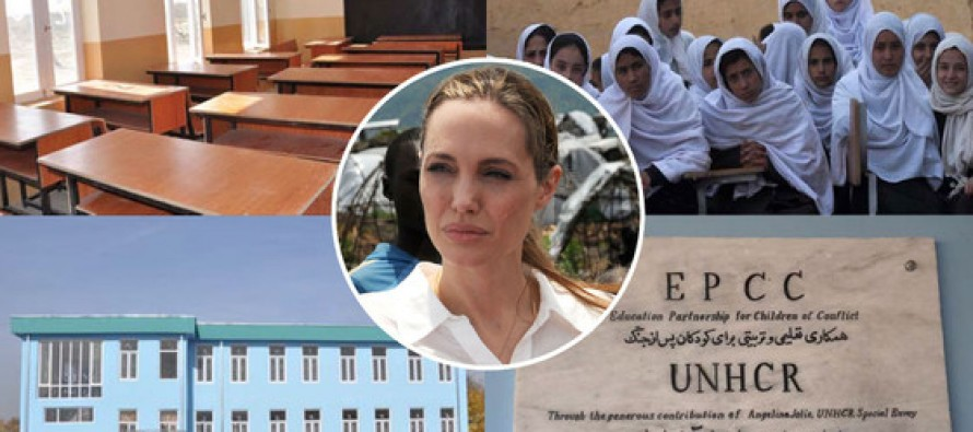 Angelina Jolie Opens All-Girls School in Afghanistan