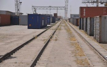 Afghan traders face problem at the Hairatan Port