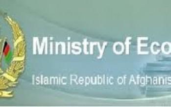 Afghan Economy Ministry dissolves 140 NGOs