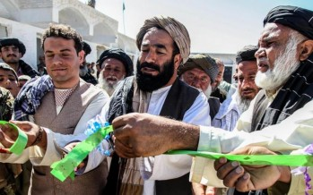 Afghan Local Police assists in Panjwai School opening