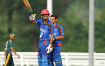 Afghanistan Under-19 cricket team in the final of ACC Elite Cup