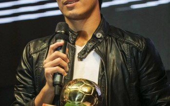 Afghan footballer wins Fans Player of the Year Award
