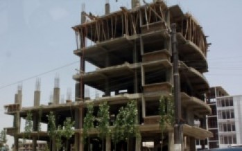 Construction of the Marriott Hotel in Kabul stopped