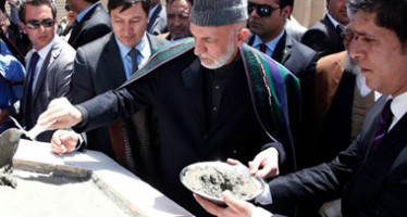 Project on 111 residential blocks inaugurated in Kabul