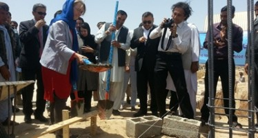 Construction work of a school building launched in Balkh