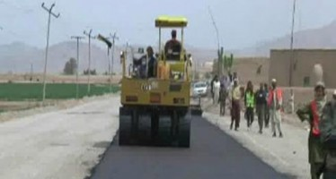 Khenjan-Bano road being asphalted at a cost of more than USD 15mn
