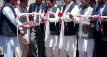 5km road being asphalted in Jalalabad