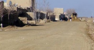 World Bank funds road graveling project in Bamyan