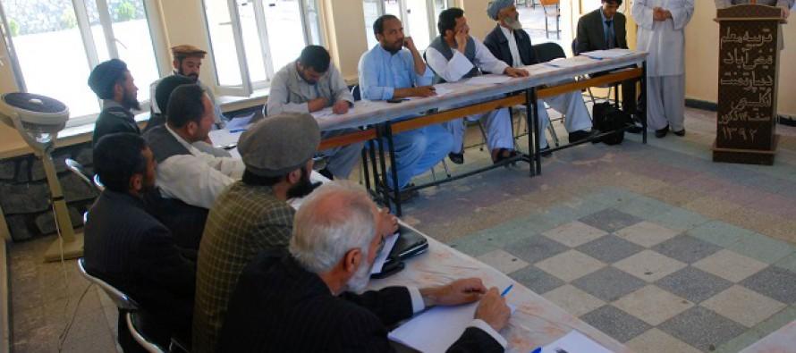 Handover ceremonies of equipment for schools in Badakhshan, Balkh and Takhar