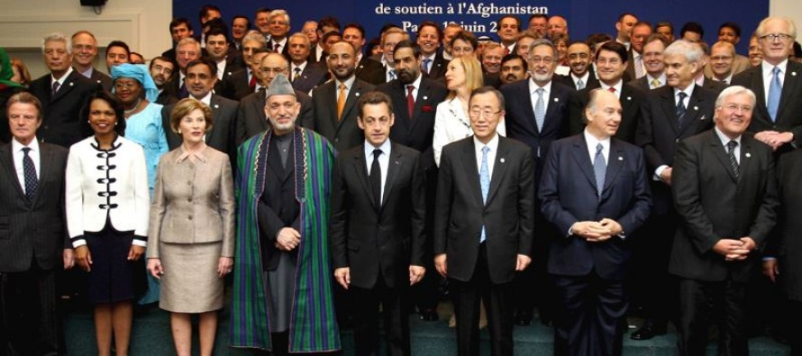 Aid donors evaluate Afghanistan's progress on commitments