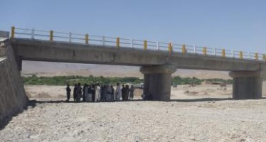New bridge linking three districts with the capital opens in Uruzgan province
