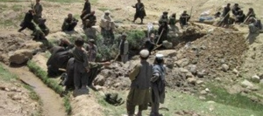 Irrigation Projects Bring Hope to Shah Wali Kot Villages, Support for Afghan government Increases