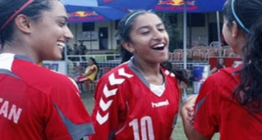Afghan Girls' Football Team Defeats Kyrgyzstan