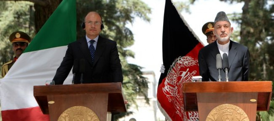 Italy pledges support to Afghanistan beyond 2014