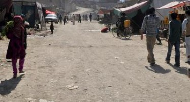 Dilapidated road a nuisance for Rahman Mina residents in Kabul city