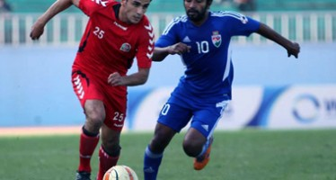 Afghanistan finishes 0-0 draw against Maldives in SAFF Cup