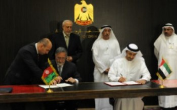 Air services agreement signed between UAE and Afghanistan