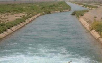 A water canal established in Herat province