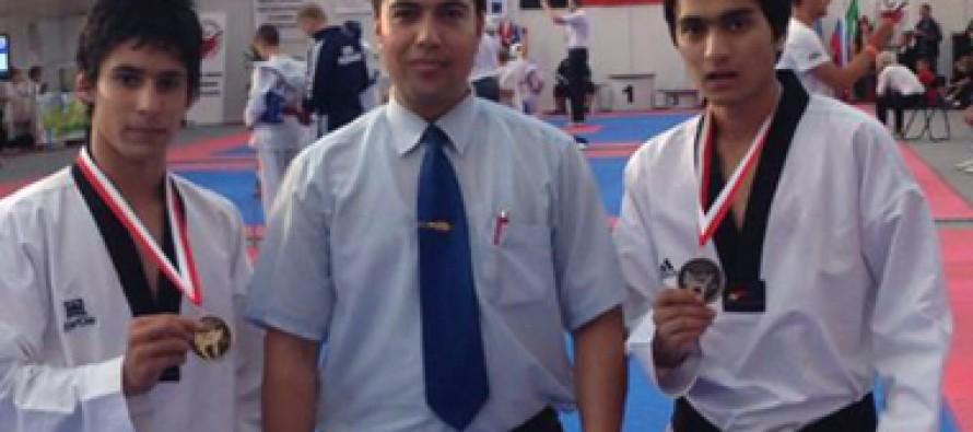 Afghan Taekwondo team bags 2 bronze medals