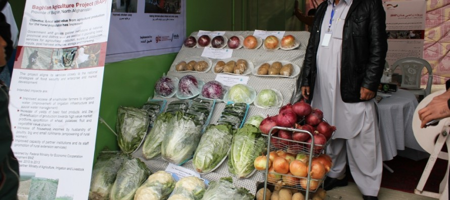 International AgFair in Kabul from October 30 to November 1, 2013