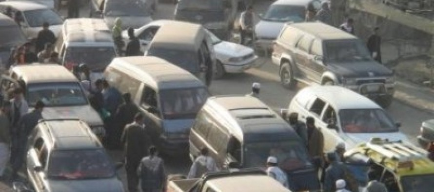 Kabul traffic, who is at fault?