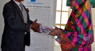 Afghan midwives graduate from Community Midwifery School in Wardak