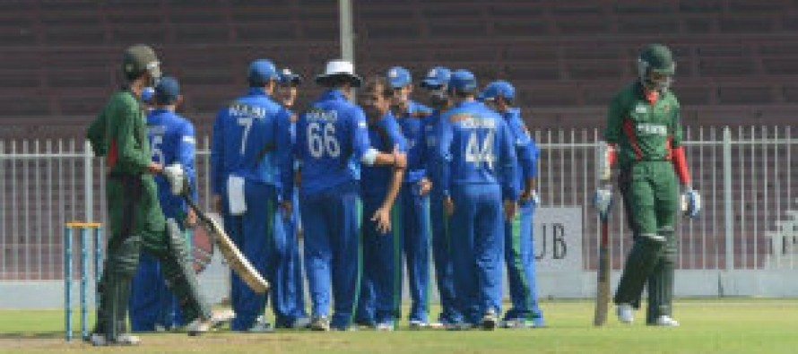 Afghanistan qualifies for 2015 Cricket World Cup after defeating Kenya