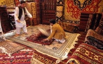 80% decline in Afghan carpet exports