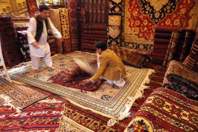 Afghan Carpets Exported Under The Shadow Of Pakistan Wadsam