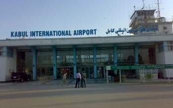 Tokyo-funded projects executed at Kabul airport