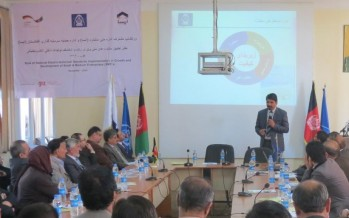 Afghan manufacturers emphasize on implementing national electro-technical standards