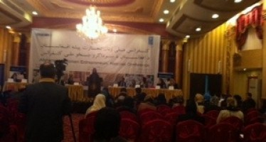 Afghan women's participation instrumental for economic development