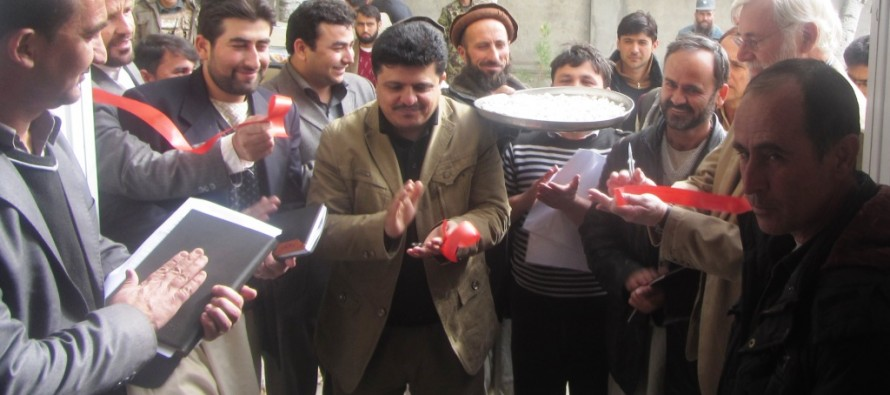 Equipping Badakhshan's Provincial Governor Office and Afghan National Disaster Management Authority