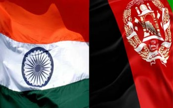 India to stand with Afghan government at every step