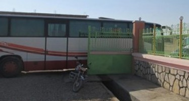 First bus station opened in Sheberghan city