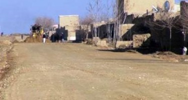 Afghan residents fund construction of road after municipality ignores requests