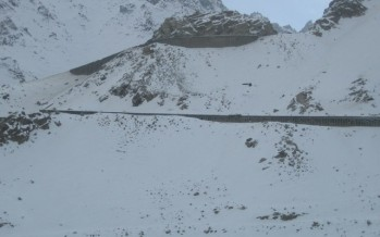 Salang roads starting to deteriorate