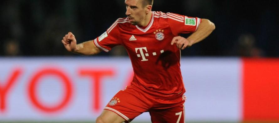 Ribery criticizes the decision to award Ronaldo the Ballon d'Or