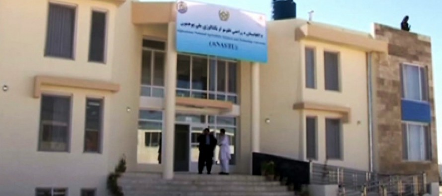 National Agriculture Science and Technology University inaugurated in Kandahar