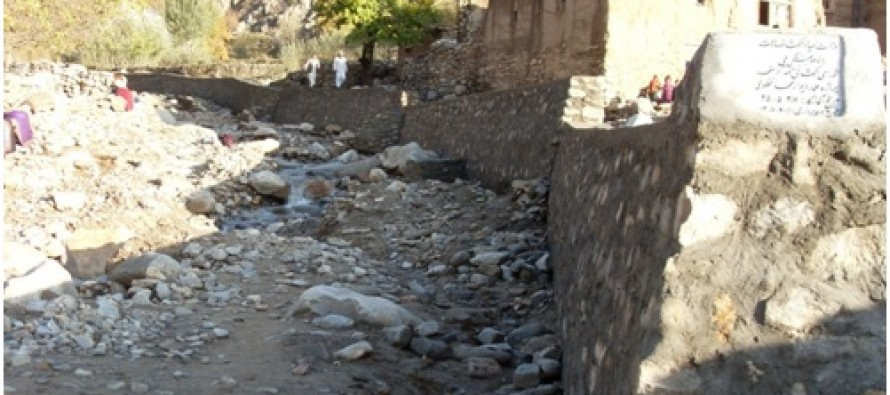 NSP projects implemented in Kapisa province