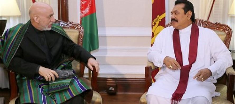 Sri Lanka agrees to enhance involvement in Afghan economy
