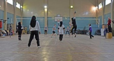 Visit of Afghan Women Volleyball team to India