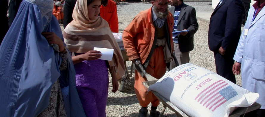 US Gives $30 Million in Food Assistance to Vulnerable Afghans