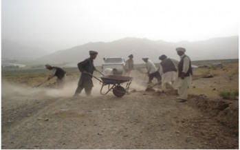 Work on 7 NSP projects started in Kandahar province