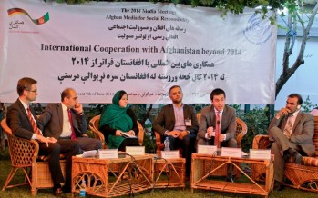 Afghanistan, Germany debate international cooperation beyond 2014