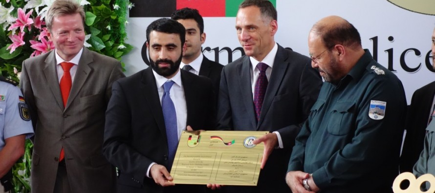 Germany supports Afghanistan to train its police force in Mazar-e Sharif