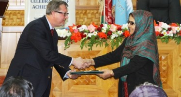 Afghan Rule of Law Achievements Recognized at Supreme Court